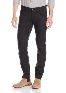 Hudson Jeans Men's Blake Slim Straight Zip Fly Woolen Jeans  33