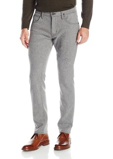 Hudson Jeans Men's Blake Slim Straight Zip Fly Woolen Pant