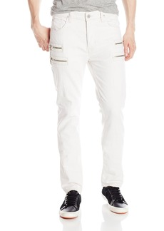 Hudson Jeans Men's Broderick Front Zip Slouchy Skinny Fit Jean