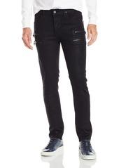 Hudson Jeans Men's Broderick Front Zip Slouchy Skinny Fit Jean in