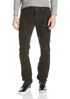 Hudson Jeans Men's Broderick Front Zip Slouchy Skinny Fit Jean in