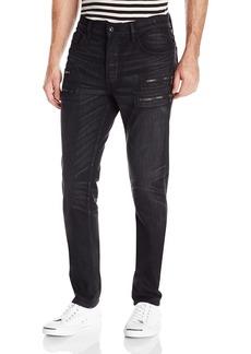 Hudson Jeans Men's Broderick Front Zip Slouchy Skny