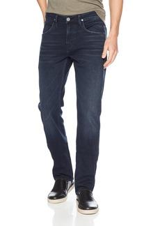Hudson Jeans Men's Byron Straight Leg Zip Fly Jeans threaten