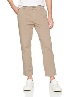 Hudson Jeans Men's Clint Cropped Chino Pant