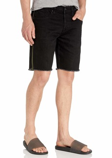Hudson Jeans Men's Cut Off Denim  Short Denim