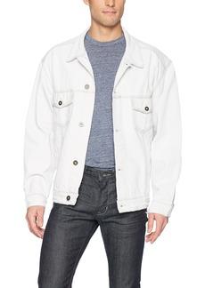 Hudson Jeans Men's Denim Trucker Jacket  MD