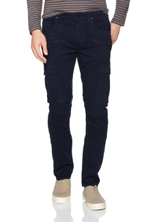 Hudson Jeans Men's Greyson Slim Fit Cargo Biker Pant