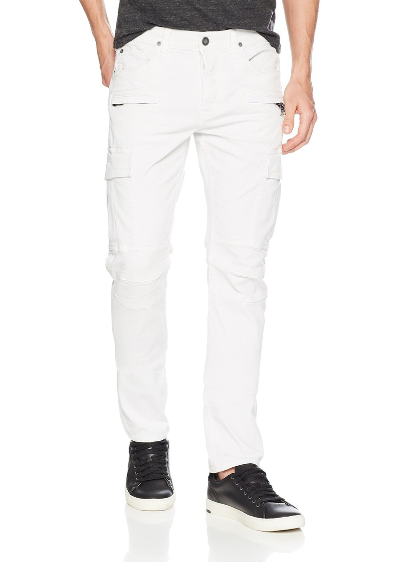 Hudson Jeans Men's Greyson Slim Fit Cargo Biker Pant Off