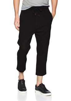 Hudson Jeans Men's Leo Drop Crotch Jogger  LG