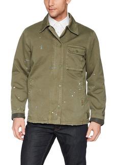 Hudson Jeans Men's Military Jacket  XL