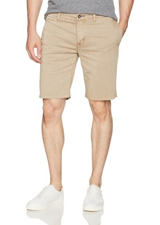 Hudson Jeans Men's River Raw Hem Chino Short