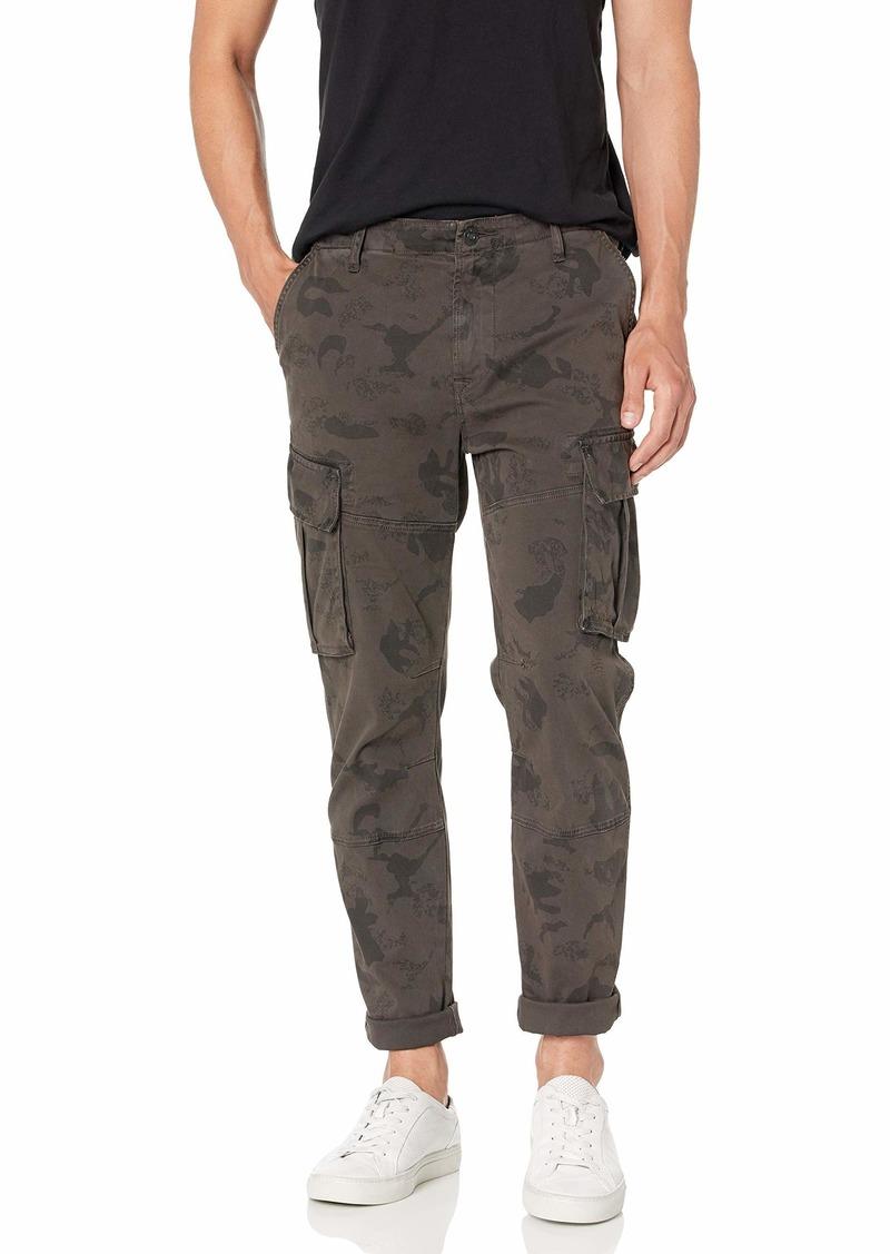 Hudson Jeans Men's Skinny Cargo Twill Dark Slate camo
