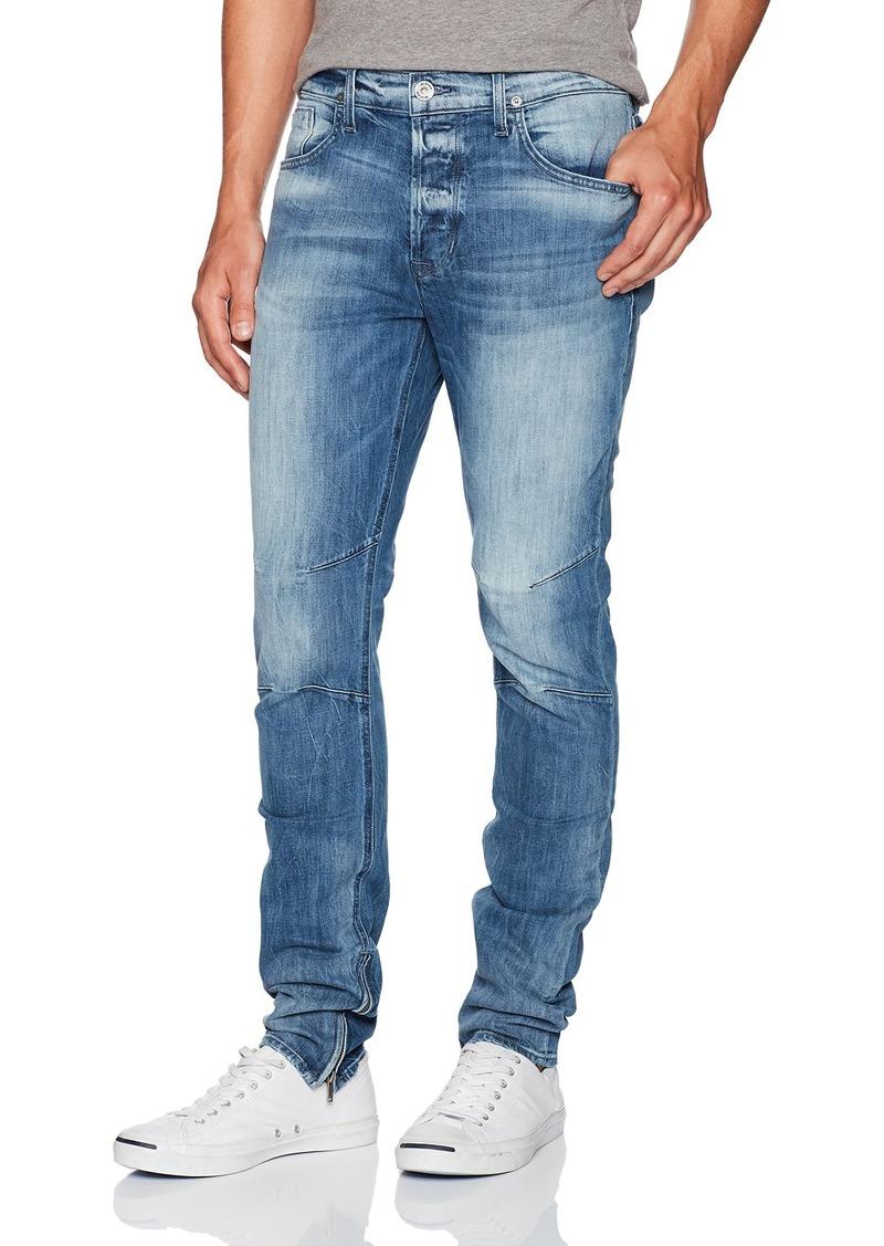 Hudson Jeans Men's Vaughn Skinny Ankle Zip Jeans NO NO Remorse