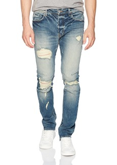 Hudson Jeans Men's Vaughn Skinny Ankle Zip KILLZ
