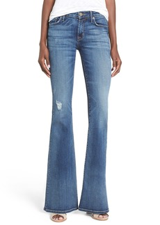 Hudson Jeans 'Mia' Distressed Flare Jeans (Fierce)