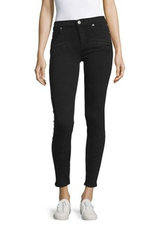 Hudson Jeans Mid-Rise Skinny Jeans