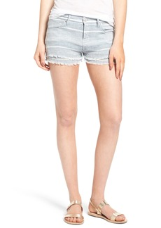Hudson Jeans Midori Double Layer Cutoff Shorts (Barely There 2)
