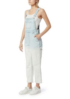 Hudson Jeans Mix Faded Ankle Overalls