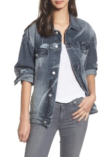 Hudson Jeans New Boyfriend Denim Trucker Jacket