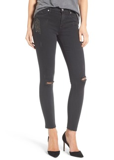 Hudson Jeans 'Nico' Ankle Jeans (Blackened Charcoal)