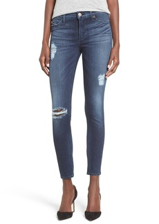 Hudson Jeans 'Nico' Ankle Super Skinny Jeans (Anchor Light)