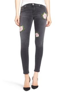 Hudson Jeans Nico Ankle Super Skinny Jeans (Confronted)