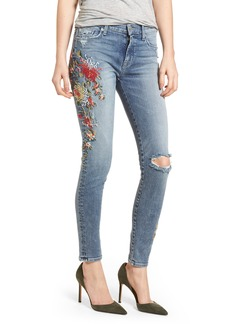 Hudson Jeans Nico Ankle Super Skinny Jeans (Curfew)