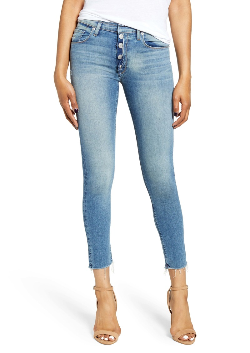 Hudson Jeans Nico Button Fly Ankle Skinny Jeans (Headliner)