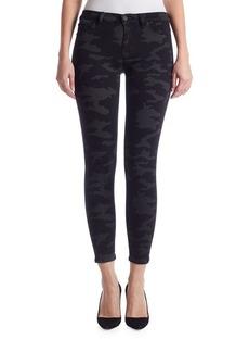 Hudson Nico Camo Skinny Jeans