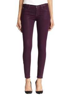 Hudson Jeans Nico Coated Skinny Jeans