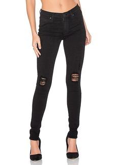 Hudson Jeans Nico Distressed Skinny in Black. - size 23 (also in 24,27)