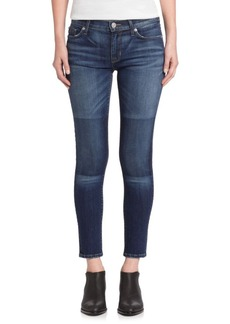 Hudson Jeans Nico Faux Patch Skinny Jeans