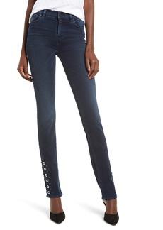 Hudson Jeans Nico Grommet Cigarette Jeans (After Night)