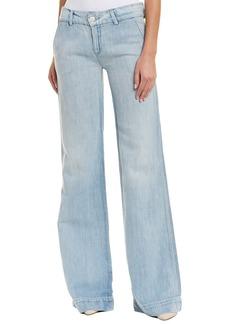 Hudson Jeans Nico Linen-Blend Trouser