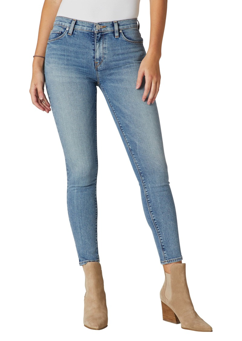 Hudson Jeans Nico Mid Rise Ankle Skinny Jeans (Moving On)
