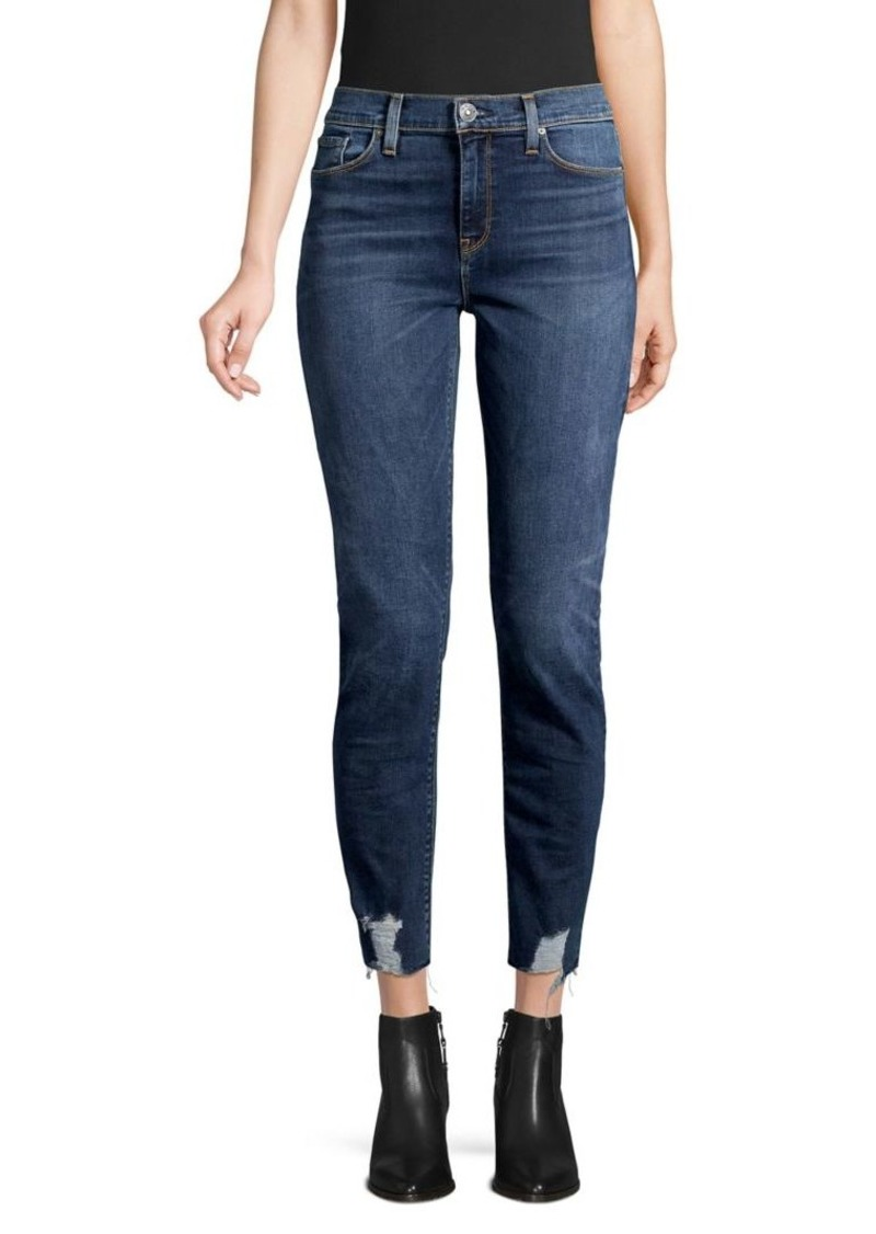 Hudson Jeans Nico Mid-Rise Skinny Ankle Jeans