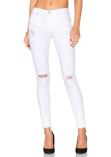 Hudson Jeans Nico Mid Rise Super Skinny in White. - size 23 (also in 24,25,26,27,28,29,30)