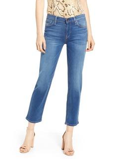 Hudson Jeans Nico Midrise Cigarette Jeans (Vision)