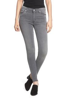 Hudson Jeans Nico Midrise Super Skinny Ankle Jeans (Harbor Mist)