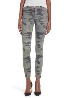 Hudson Jeans 'Nico' Print Ankle Skinny Jeans