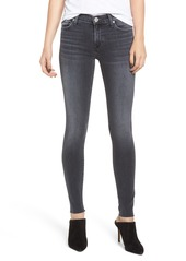 Hudson Jeans Nico Raw Hem Super Skinny Jeans (Aviation)