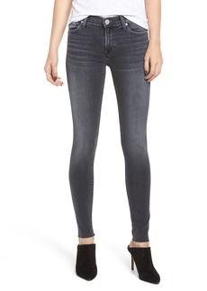 Hudson Jeans Nico Raw Hem Super Skinny Jeans (Aviation)