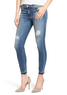 Hudson Jeans Nico Released Hem Ankle Skinny Jeans (Decimate)