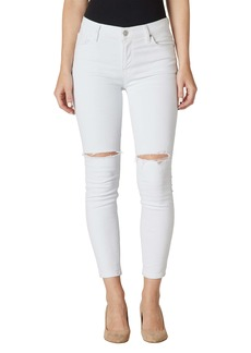 Hudson Jeans Nico Ripped Crop Skinny Jeans (Spirit)