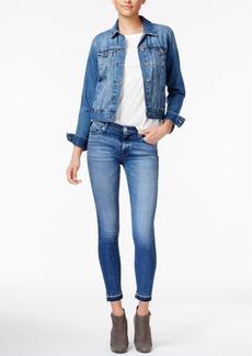 Hudson Jeans Nico Ripped Decimate Wash Skinny Jeans