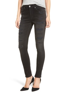 Hudson Jeans Nico Ripped Super Skinny Jeans