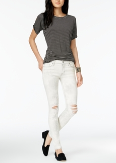 Hudson Jeans Nico Ripped Super-Skinny Jeans