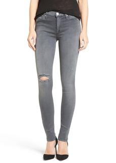 Hudson Jeans 'Nico' Ripped Super Skinny Jeans (Dark Skies 2)