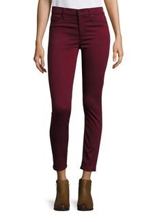 Hudson Nico Skinny Ankle Jeans - Dark Amber