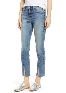 Hudson Jeans Nico Slit Hem Ankle Straight Leg Jeans (Moxie)